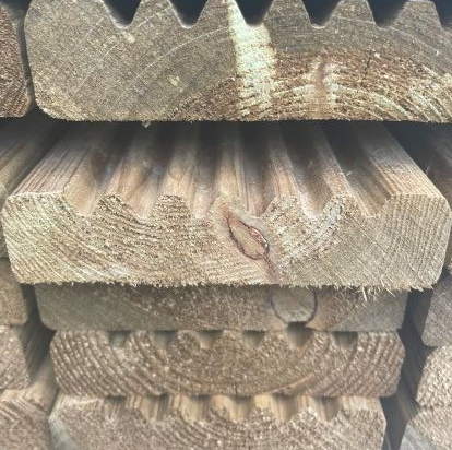 32x125 Imported  Grooved & Smooth Decking