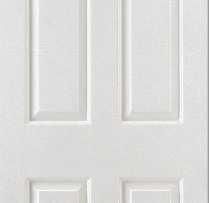 Smooth 6 Panel Moulded Door