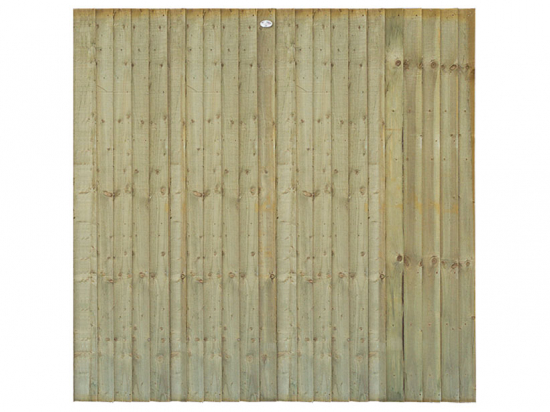 Heavy Duty Tanalised Feather Edge Fence Panel
