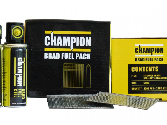 Champion 38mm Galvanised Brad Nails