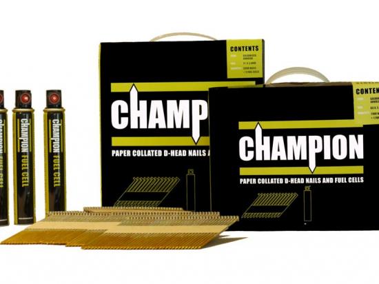 Champion 63x2.8mm Galvanised Ring Nail