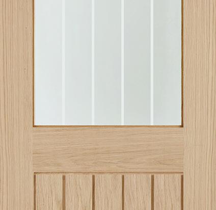Oak Belize Glazed Door