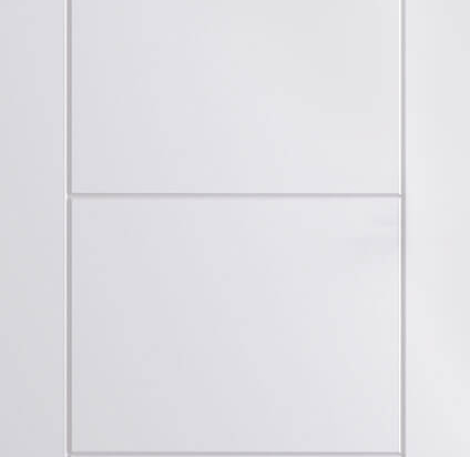Smooth Ladder Moulded Door