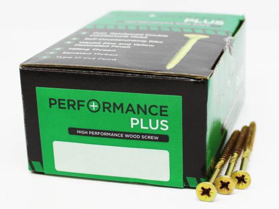 4.0x60mm Performance Plus Woodscrew