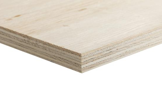 Exterior Pine Plywood 2440x1220x18mm