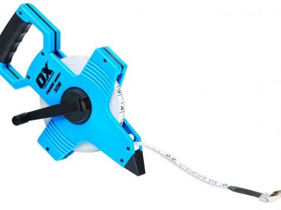 Ox Trade Open Reel Tape Measure