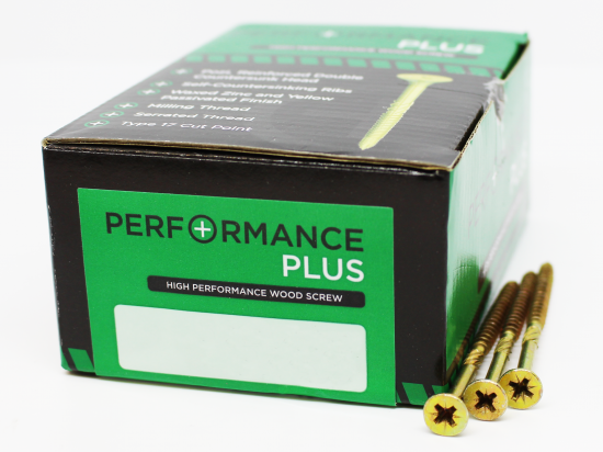 6.0x80mm Performance Plus Woodscrew