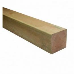 100x100 Regularised Eased Edge C24 Treated Timber