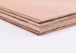 12mm Hardwood Faced Exterior Plywood