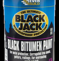 Bitumen Black Paint