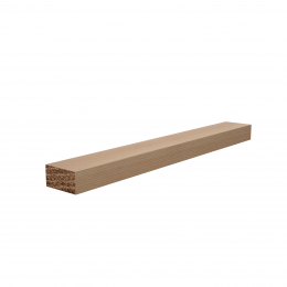 12x25 Redwood Planed Square Edged Timber 2.4m