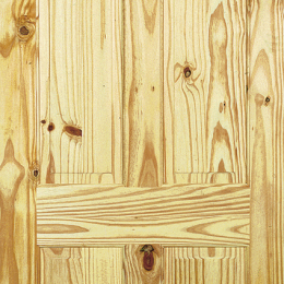 Knotty Pine 4 Panel Door
