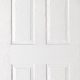 Textured 6 Panel Moulded Door