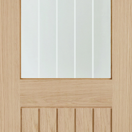 Oak Belize Glazed Door