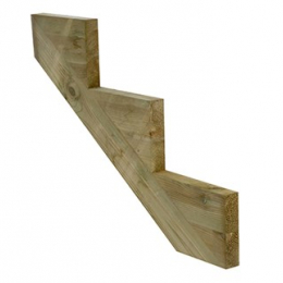 3 Step Decking Stair String