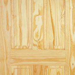 Clear Pine 6 Panel Door