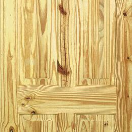 Knotty Pine 6 Panel Door