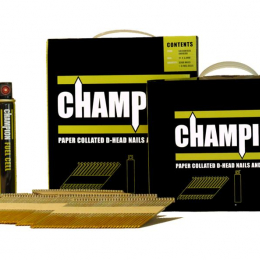 Champion 75x3.1mm Galvanised Ring Nail