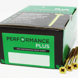 4.0x25mm Performance Plus Woodscrew