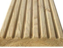32x125 Grooved & Smooth Imported Decking Board
